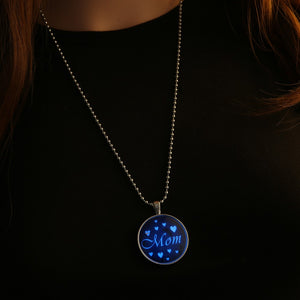 New Year Gift Glowing Necklace Steampunk