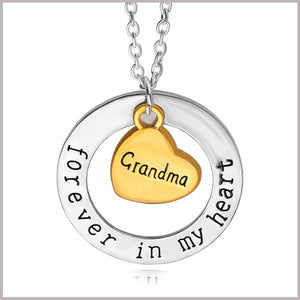 Grandma Forever n my heart Necklace