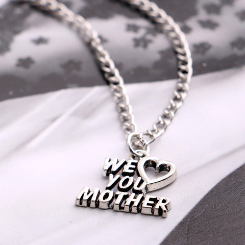 Families Pendant Necklace Fashion Jewelry