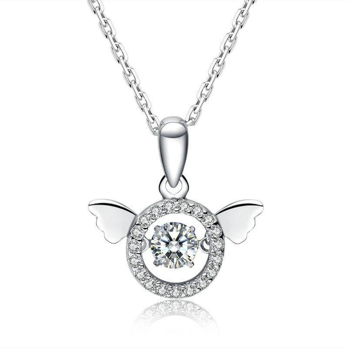 Dance with me-Angel Wings Necklace