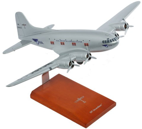 B-307 PanAm Desktop Wood Model 1/72