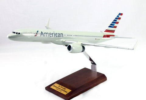 B-757 American Airlines markings Wood Model 1/100