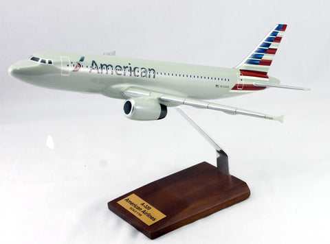 A320  American Airlines Wood Model1/100