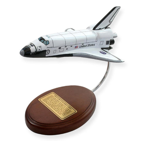 Space Shuttle Orbiter only wood (Discovery) 1/200