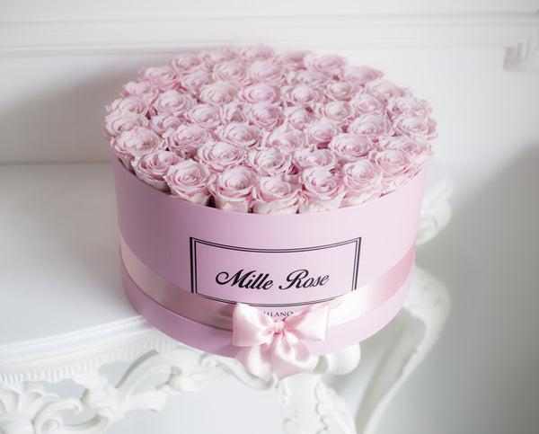 Mille Rose Collection - Senza Tempo -One Million  Box - Rose Rosa - Scatola Rosa