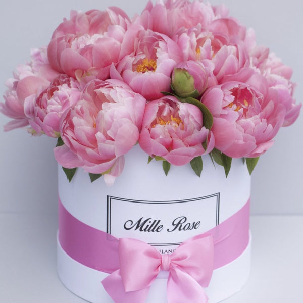 Classic Collection - Medium - Peonie - Scatola Bianca