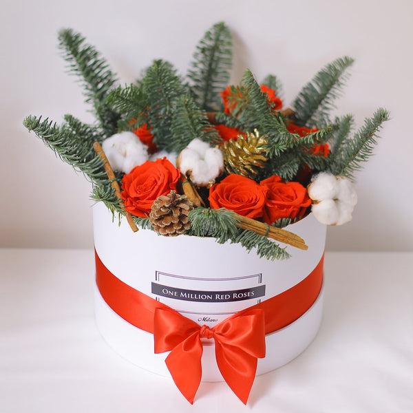 Christmas Collection - Senza Tempo - Medium Box - Mix Natale - Scatola Bianca