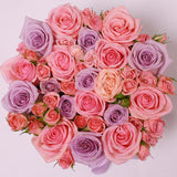 Classic Collection - Small - Rose Mix Rosa - Scatola Bianca