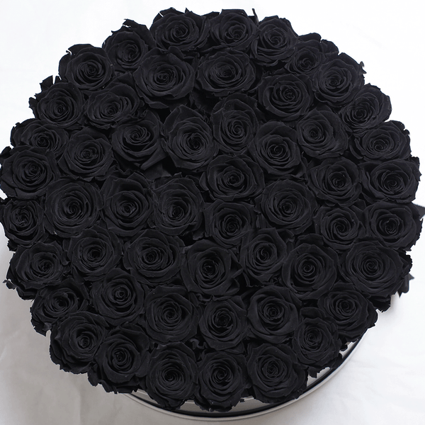 Mille Roses Collection - Senza Tempo - One Million Box - Rose Nere - Scatola Nera