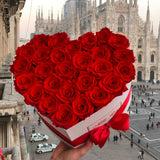 Love Collection - Rose Rosse - Scatola Bianca