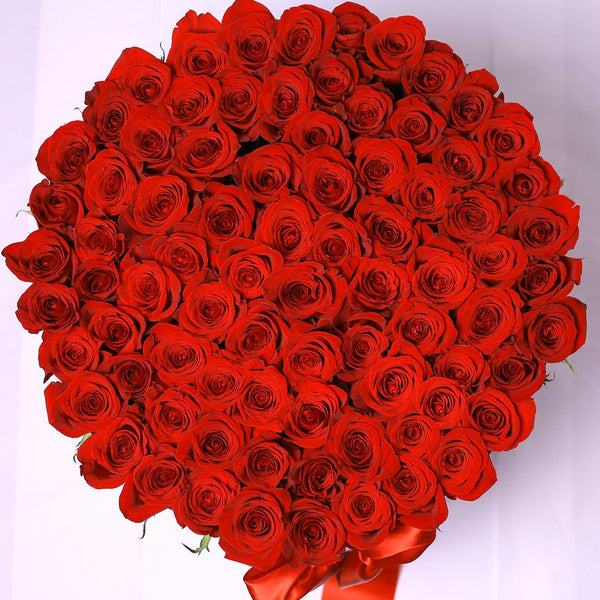Classic Collection - One Billion - Rose Rosse - Scatola Bianca