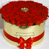 Classic Collection - One Million - Rose Rosse - Scatola Oro