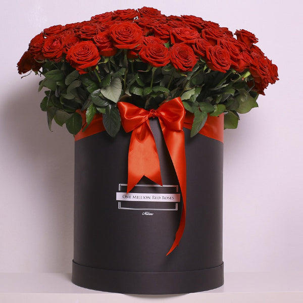 Classic Collection - Billion Box - Rose Rosse - Scatola Nera