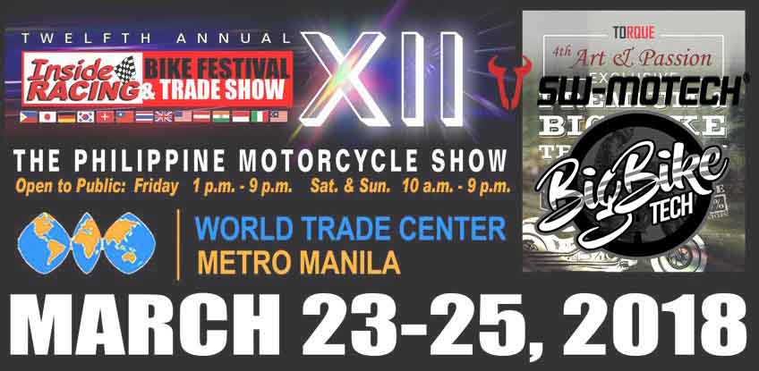 XII InsideRacing Magazine Bike Festival - March 23-25, 2018 (Big Bike Tech and SW Motech)