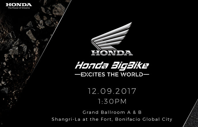 Honda Big Bikes are now in the Philippines!