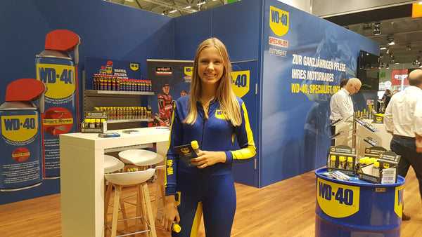 WD40 Intermot 2018 big bike tech