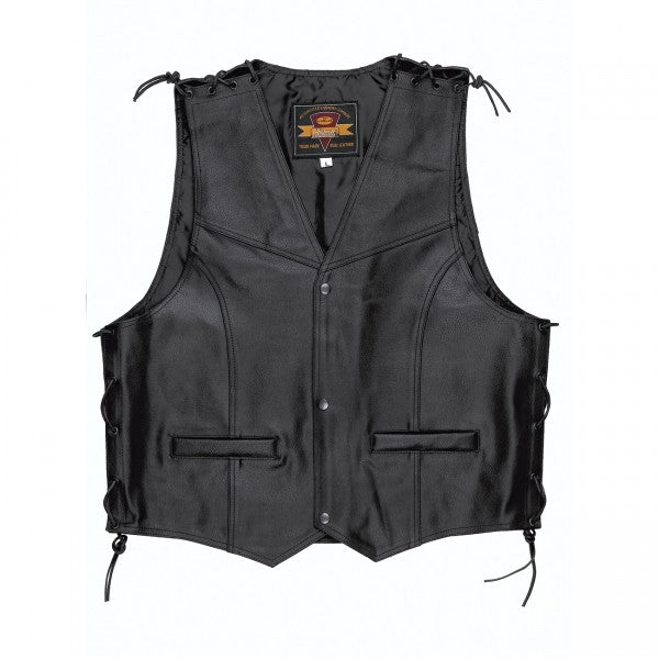 Held Patch Leather Vest