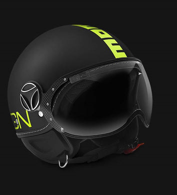 Momo Design FGTR Fluo Black Matt Yellow Fluo