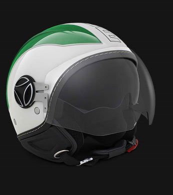 Momo Design Avio Pro Green/White/Red 150° Black Outline