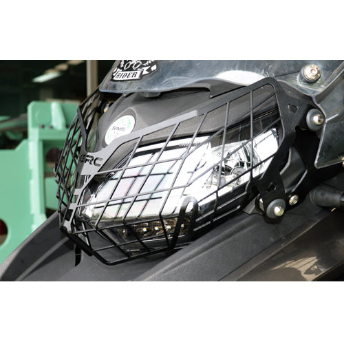SRC Headlight Guard Black
