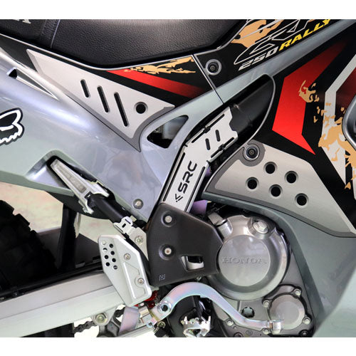 SRC Frame Guard Silver CRF250L and Rally