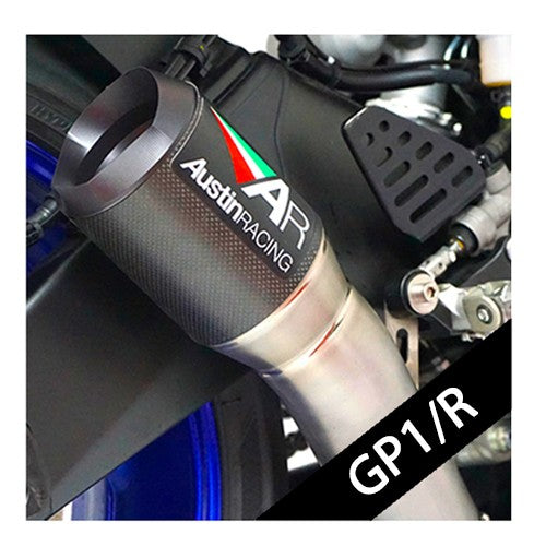 Austin Racing GP1/R SLIP-ON EXHAUST