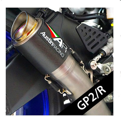 Austin Racing GP2/R SLIP-ON EXHAUST SYSTEM