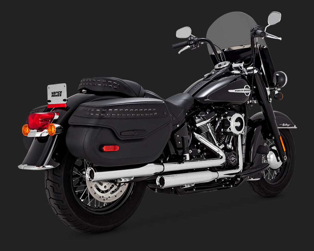 Vance & Hines Eliminator 300 Chrome for Milwaukee-Eight Heritage and Deluxe
