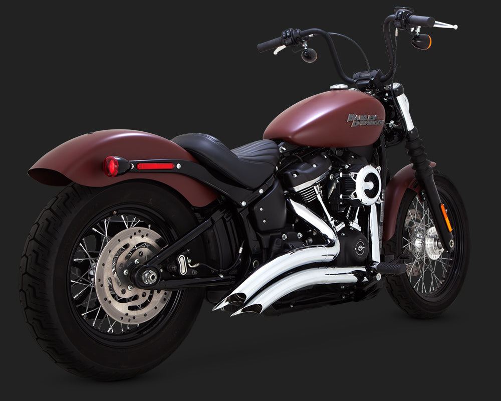 Vance & Hines Big Radius 2-Into-2 Chrome
