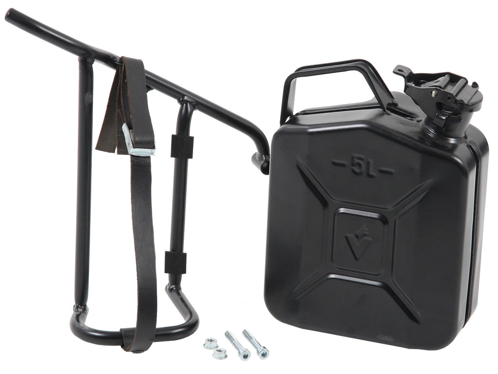 Hepco & Becker 4L Canister with Left Cutout Carrier