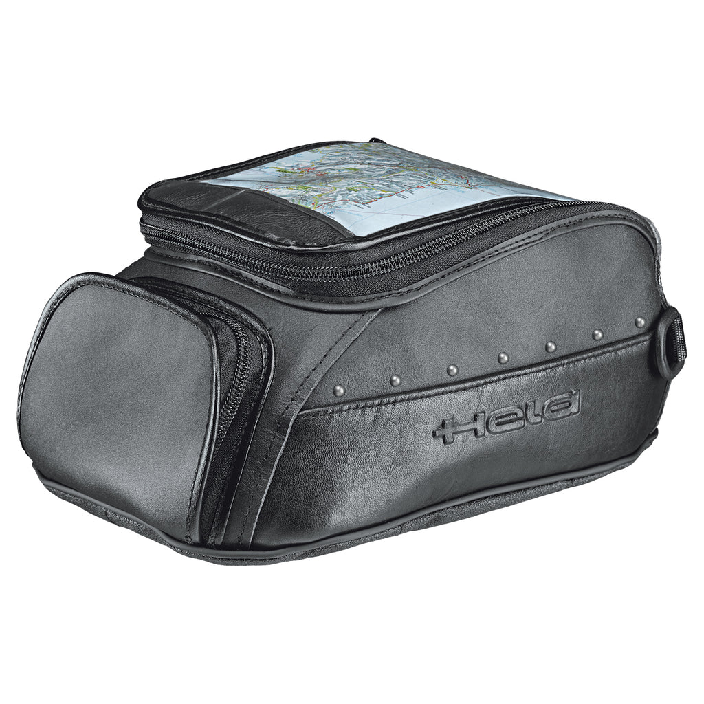Held Magnetic Cruiser Tank Bag with Rivets 4L