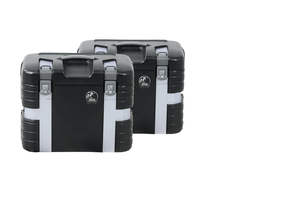 Hepco & Becker GOBI Pannier 37 Black Edition Set