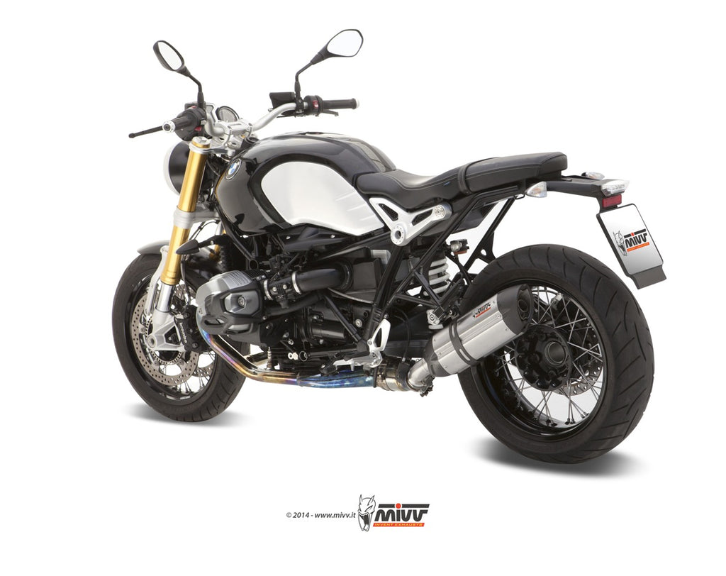 Mivv SUONO SLIP ON STEEL BLACK Exhaust