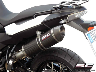 SC Project Oval silencer - Carbon Fiber with Carbon Cap