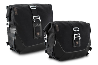 SW Motech Legend Gear side bag set - Black Edition (Left 13.5L/Right 9.8L)