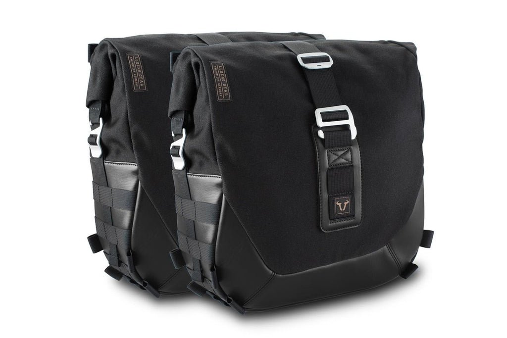 SW Motech Legend Gear side bag set - Black Edition (Left 13.5L/Right 13.5L)