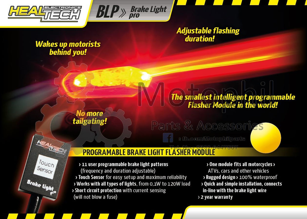 Healtech Electronics Brake Light Pro (BLP-U01)