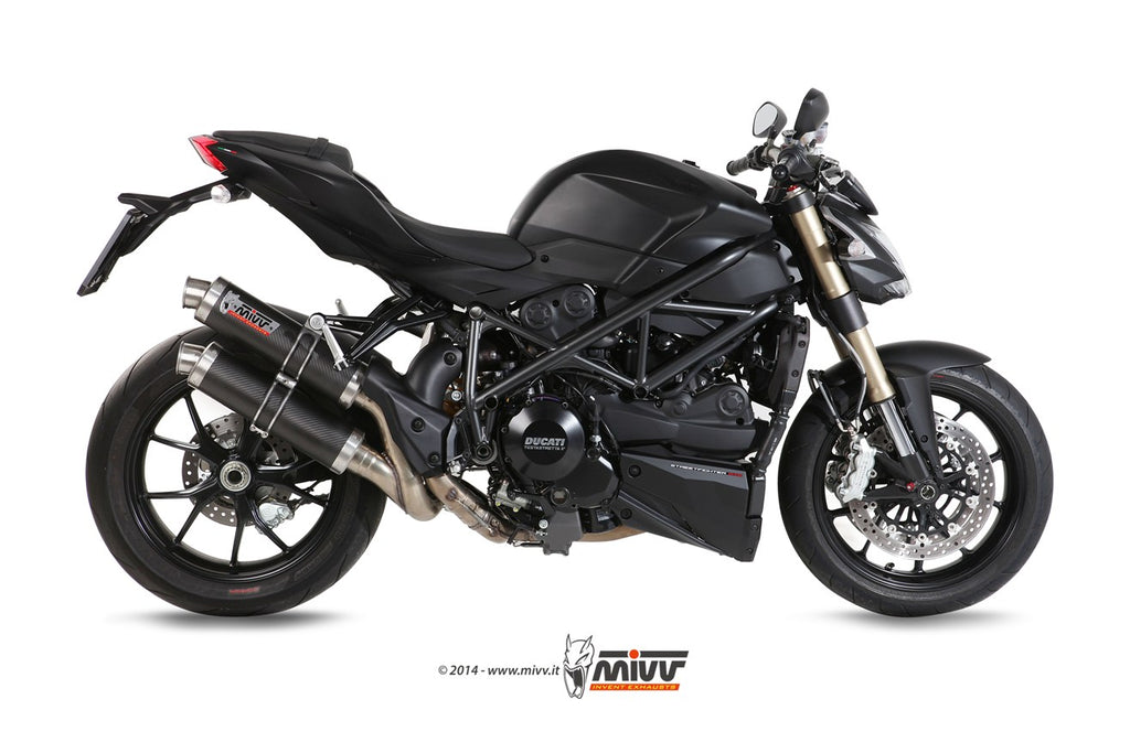 Mivv GP SLIP ON CARBON Exhaust
