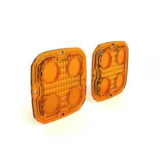 DENALI TriOptic Lens Kit for D4 2.0 Lights Amber