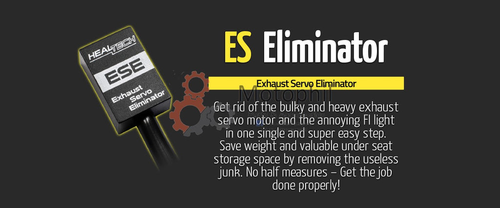 HealTech Exhaust Servo Eliminator