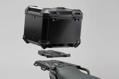 SW Motech TRAX ADV top case system Black