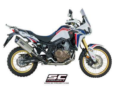 SC Project Adventure Muffler Titanium Full System