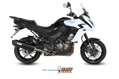 Mivv SPEED EDGE SLIP ON STEEL BLACK Exhaust