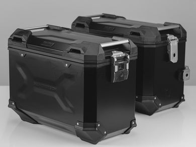 SW Motech TRAX ADV Pannier System 45L Left and Right Black