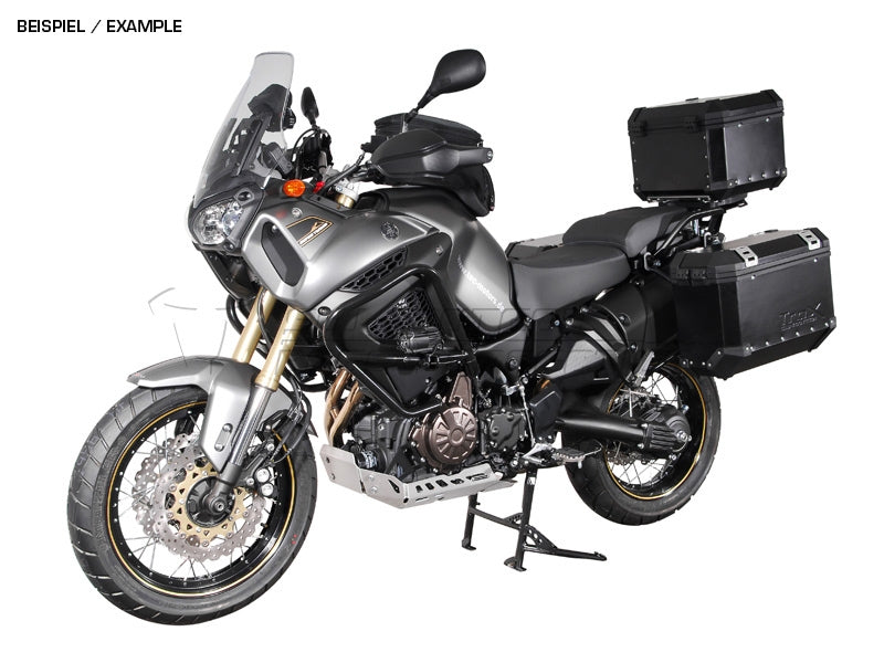 SW Motech Trax ADV Aluminum Pannier 37L Left and 37L Right Black