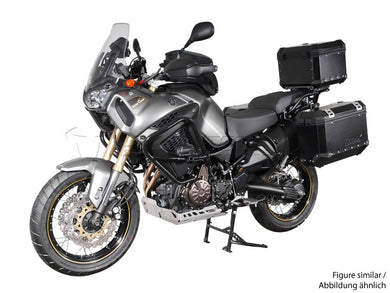 SW Motech TraX EVO Pannier System 37L Left and 45L Right Silver