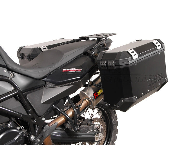 SW Motech TraX EVO Pannier System Black 37L Left and 45L Right