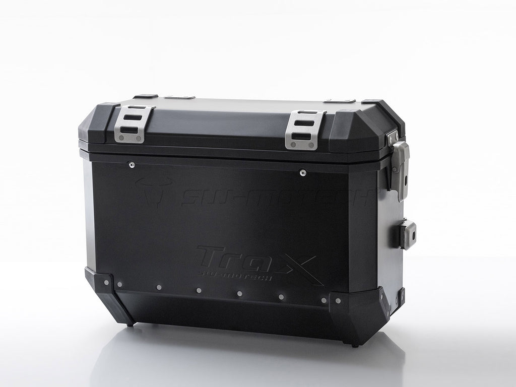 SW Motech TraX EVO Pannier System Black 37L Left and 37L Right