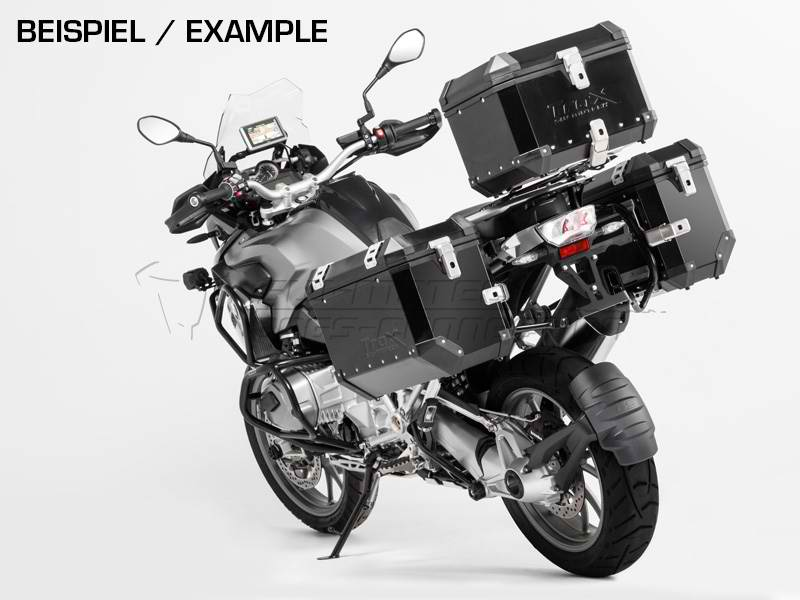 SW Motech TraX EVO Pannier System Black 45L Left and 37L Right