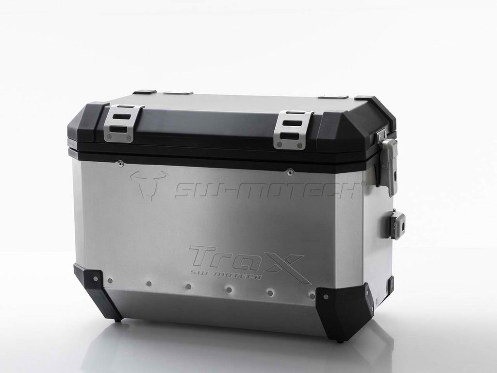 SW Motech TraX EVO Pannier System Silver 45L (Left & Right)